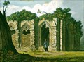 "Image for ""Part of Furness Abbey, Lancashire"" by  THA Fielding (1821) – Furness Abbey, Barrow in Furness, Cumbria, UK"