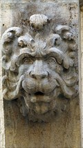 Image for Lion Heads at City House, Waffnergasse 8, Regensburg - Bavaria / Germany