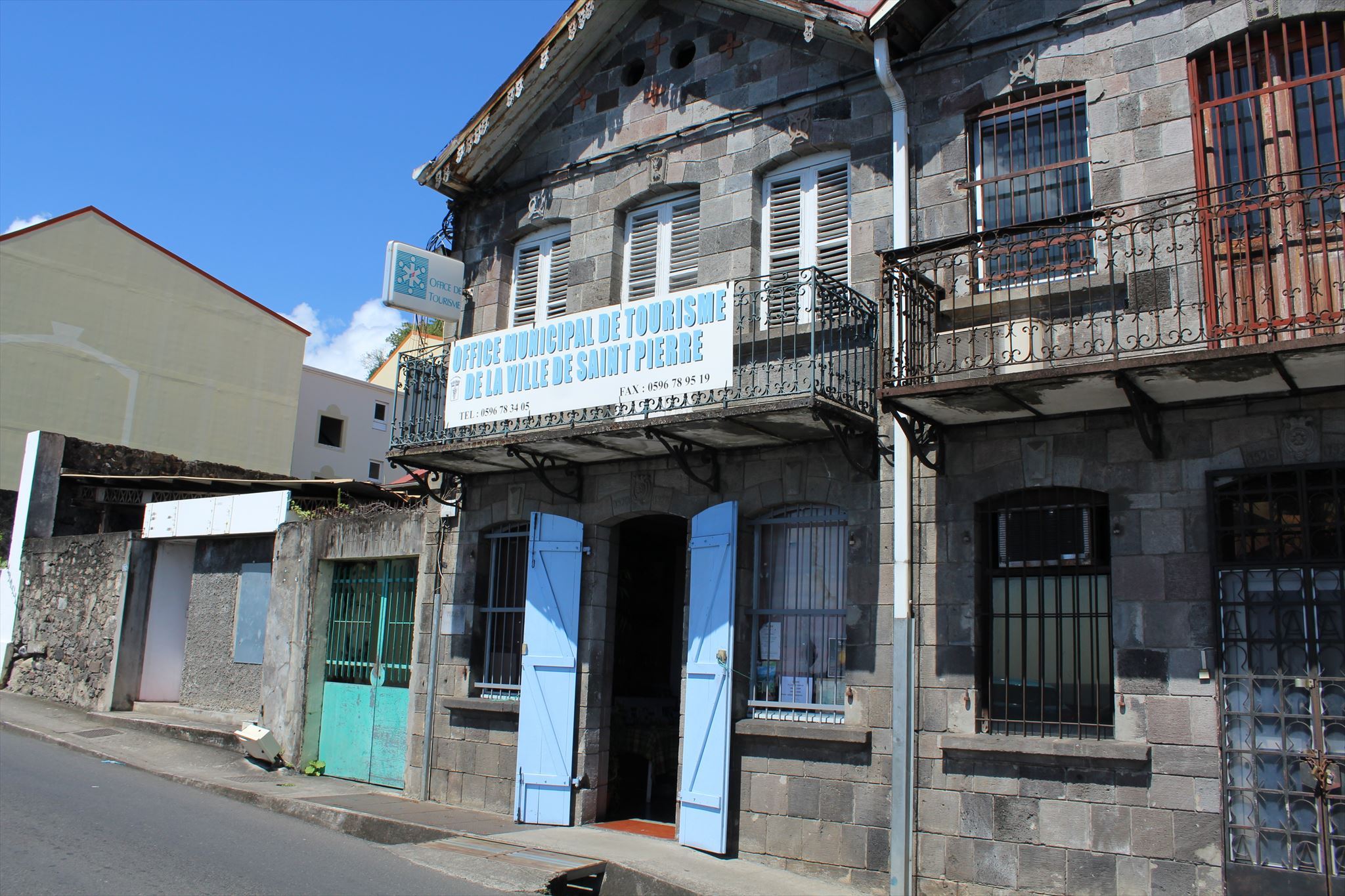Office municipal de tourisme saint pierre martinique tourist information centers visitor - Office de tourisme saint pierre sur dives ...