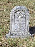 Image for Oleva Charlotta Anderson Monument - Oakwood Cemetery Historic District - Fort Worth, TX