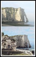 Image for The Etretat Cliffs after the Storm by Gustave Courbet - Étretat, France
