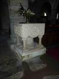 Image for Font, St. John The Baptist, Kinlet, Shropshire, England