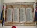 Image for WWI Memorial - St Nicholas Chuch, Kenilworth, Warwickshire, UK
