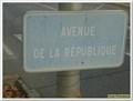 Image for Avenue de la République - French classical edition - Sainte-Tulle, Paca, France