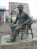 Image for Dylan Thomas - Swansea Theatre Mural - Swansea Wales.