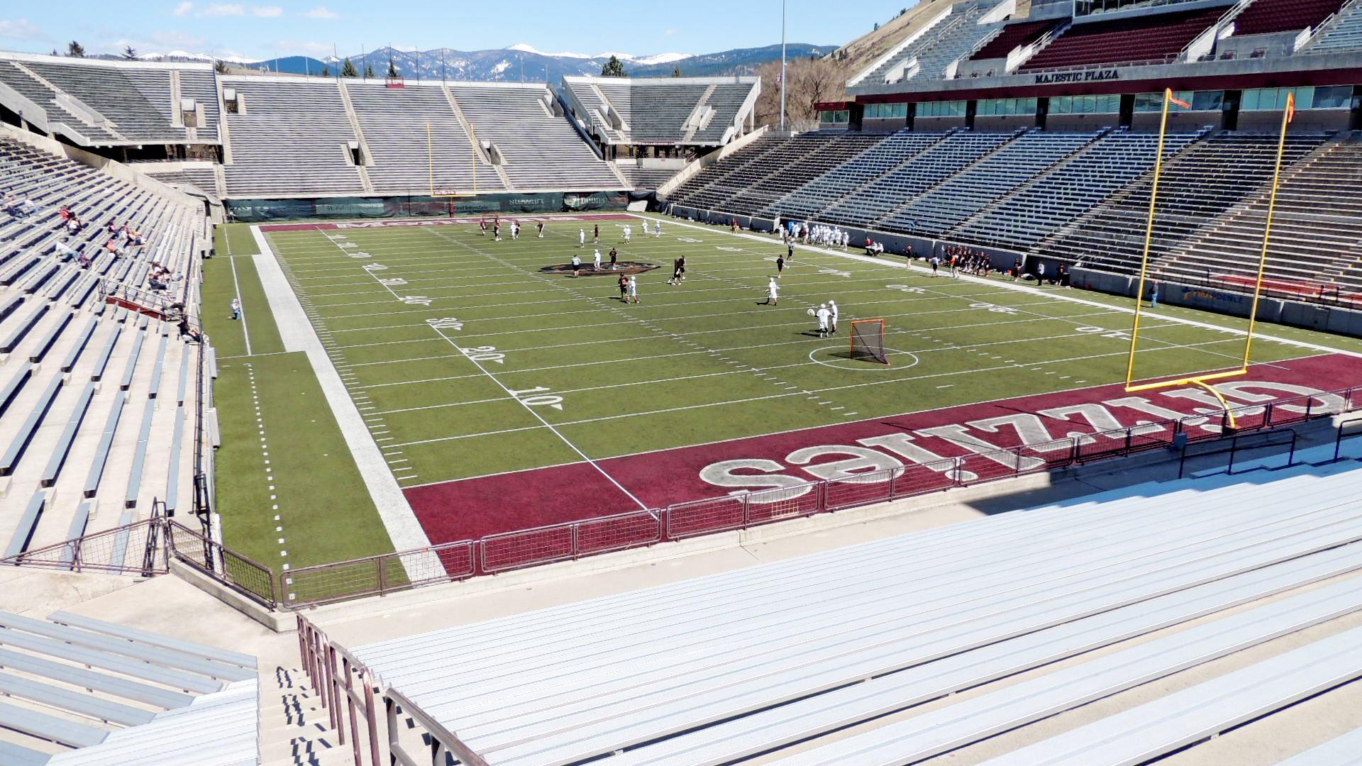 Washington Grizzly Stadium U Of M Missoula Mt College