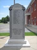 Image for Mississippi County World War Memorial - Charleston, Missouri