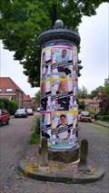 Image for Old advertising collum Oranje straat Arnhem