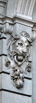 Image for Lion Heads at Wesselényi u. 6 - Budapest, Hungary