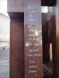 Image for Albert Einstein Memorial - Bahnhofstraße Ulm, Germany, BW