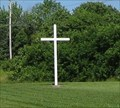 Image for White Latin Cross - St. Peter's E&R Cemetery - Owensville, MO