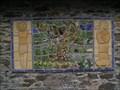 Image for Cartmel Fell Parish Hall tiled mural Cumbria