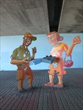 Image for Neighborhood Convergence - Underpass People - Emeryville, CA