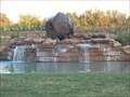 Image for Bison Sculpture - Waukomis, OK