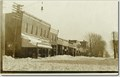 Image for Downtown Morocco, IN, 1908 and Now
