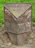 Image for Milestone -  Corner of Ross Road and Holme Lacey Road, Hereford, Herefordshire, UK.