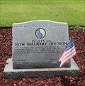 Image for 29th US Infantry Division, US Army -- Chattanooga National Cemetery, Chattanooga TN