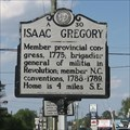 Image for Isaac Gregory, A-30