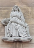 Image for Our Lady and Jesus Christ on Our Lady and St. Nicholas Church – Liverpool, UK