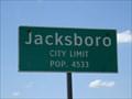 Image for Jacksboro, TX - Population 4533