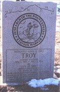 Image for In Search of the Pony Express -TROY