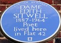 Image for Dame Edith Sitwell - Greenhill, Hampstead High Street, London, UK