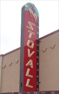 Image for Stovall Theatre - Route 66 Neon -  Sayre. Oklahoma, USA.