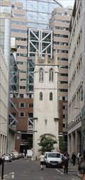 Image for St. Alban's Church Tower -- Wood Street, City of London, UK