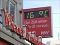 Image for Time & Temperature Sign in 97070 Würzburg/ Bayern/ Deutschland
