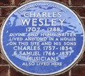 Image for Charles Wesley - Wheatley Street, London, UK