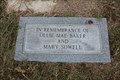 Image for Ollie Mae Baker and Mary Sowell - Dye Mound Cemetery - Montague County, TX