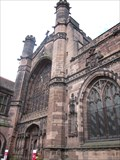 Image for Quilt tapestry 'stolen to order', Chester Cathedral, Cheshire, Wales, UK
