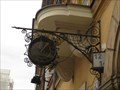 Image for Signboard clock, Old Town - Warsaw, Poland
