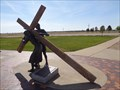 Image for Jesus Christ - 2nd Station Of The Cross - Groom, Texas, USA.