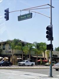 Vintage Route 66 Gas Station - Glendora, CA.