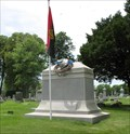 Image for Chicago Fire Department Cold Storage Warehouse Fire Memorial - Oak Woods Cemetery, Chicago, IL