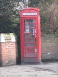 Image for Wendover - Red Telephone Box  - Buck's