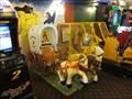 Image for Wild West Wagon, Amusements, Royal Pier, Promenade, Aberystwyth, Ceredigion, Wales, UK
