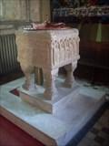Image for Baptismal Font - St.Mary and All Saints' Church, Creake Road, Sculthorpe, Norfolk. NR21 9NJ