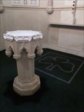 Image for St. Patrick's Baptismal Font  -  Washington, D.C.
