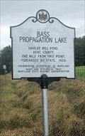 Image for Bass Propagation Lake