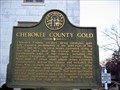 Image for Cherokee County Gold