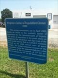 Image for Virginia's Center of Population Census - Oilville, VA