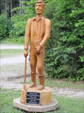 Image for Abraham Lincoln Wood Carving Statue - Lincoln City, IN