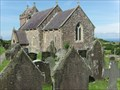 Image for St Madoc's - Churchyard - Llanmadoc, Wales. Great Britain.