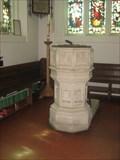 Image for Font - St Peter & St Paul Church, Little Gaddesden, Hert's