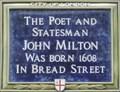 Image for John Milton - Bread Street, London, UK