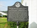 Image for Sand Hill Missionary Baptist Church Birthplace of the Smyrna Baptist Association-GHS 34-2-Coffee Co