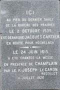 Image for Présence de Cartier et Champlain - Presence of Cartier and Champlain - Montréal, Québec
