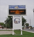 Image for Gunnison Valley High School Time and Temperature